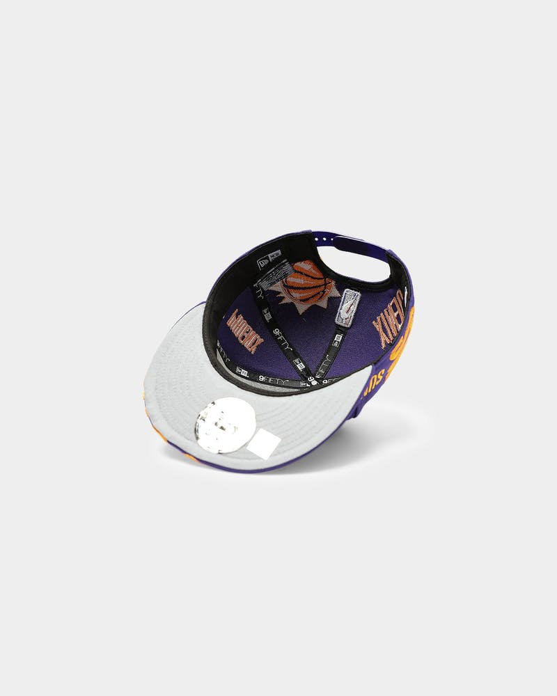 New Era Phoenix Suns 9FIFTY 19 Tip Off Snapback Purple