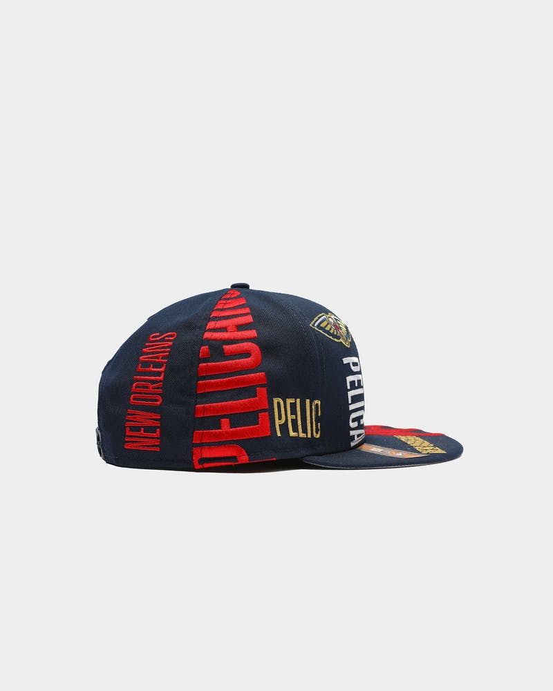 New Era New Orleans Pelicans 9FIFTY 19 Tip Off Snapback Navy