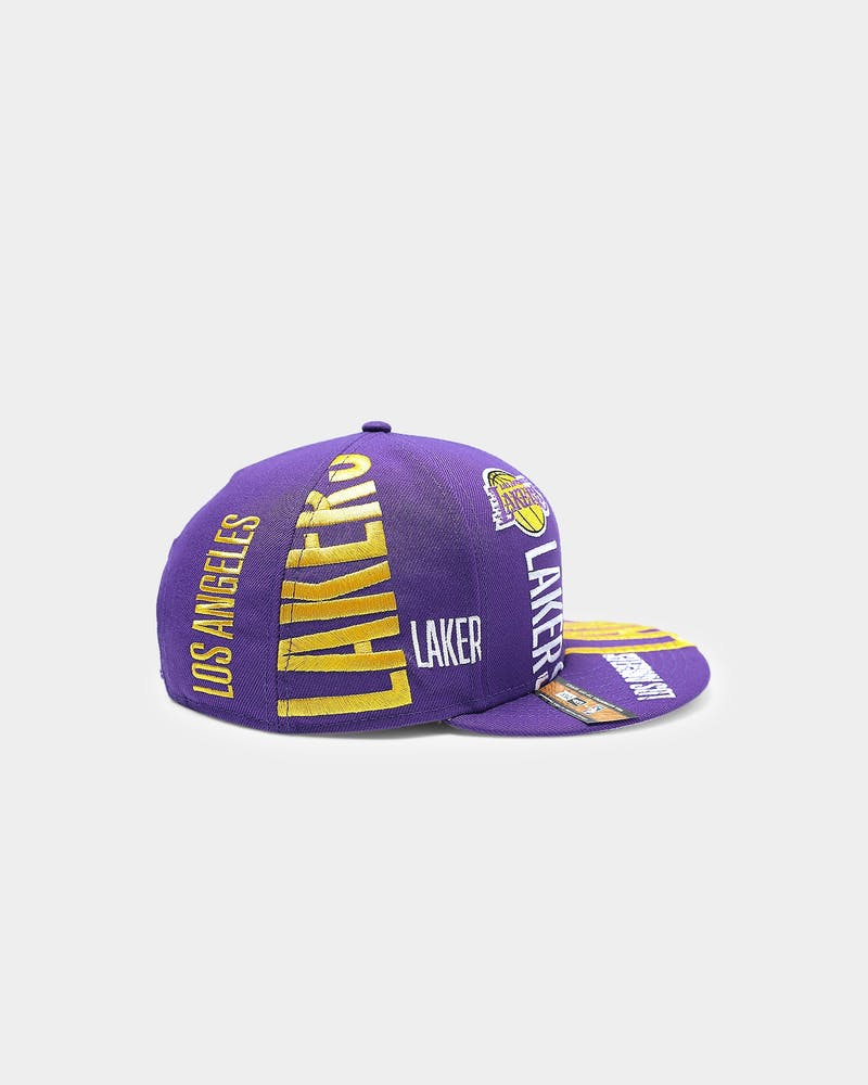 New Era Los Angeles Lakers 9FIFTY 19 Tip Off Snapback Purple