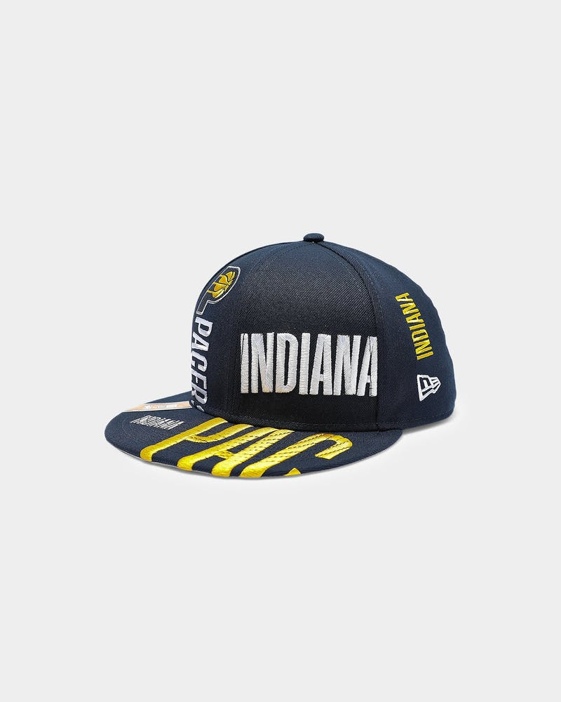 New Era Indiana Pacers 9FIFTY 19 Tip Off Snapback Navy
