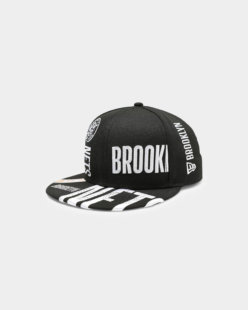 New Era Brooklyn Nets 9FIFTY 19 Tip Off Snapback Black