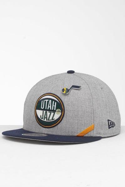 d18c00c0a50442 New Era Utah Jazz 9Fifty NBA Draft Snapback Navy/OTC ...