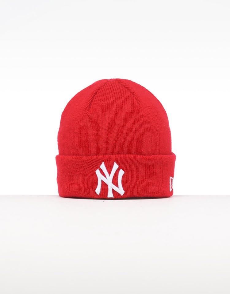 a723b874eb6001 New Era Infant New York Yankees 6 Dart Cuff Beanie Scarlet/White ...