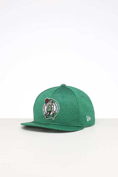 New Era Kids Boston Celtics 9FIFTY Original Fit Snapback Green Shadow Tech