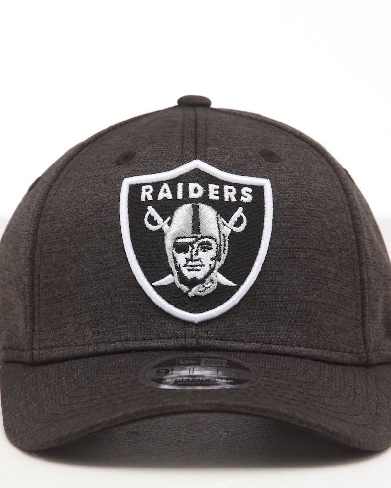 New Era Raiders 9FIFTY Stretch Snapback Black Shadow Tech