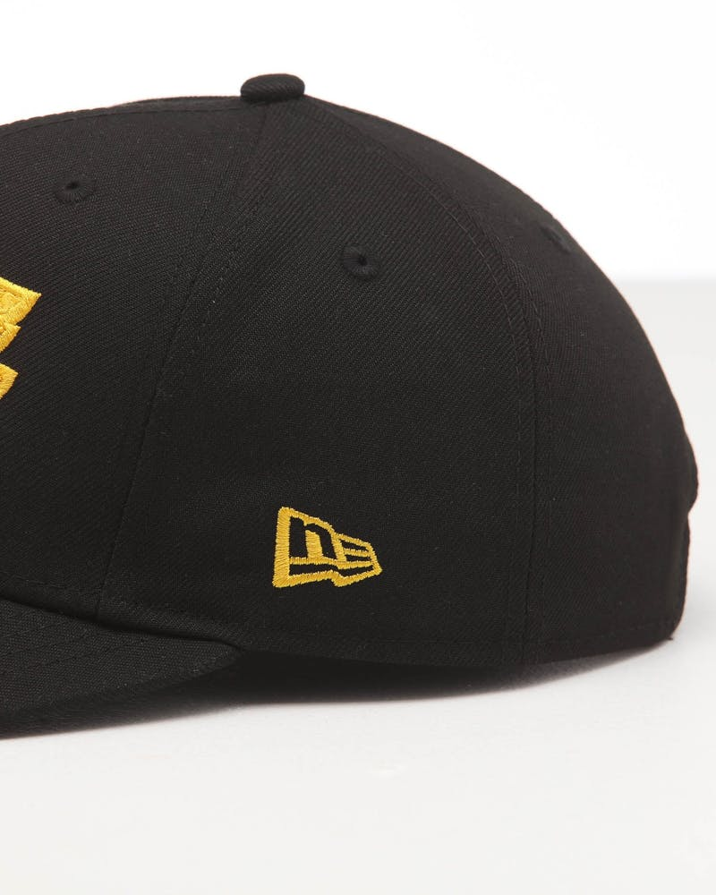 New Era Los Angeles Lakers 9FIFTY Original Fit Precurved Snapback Black