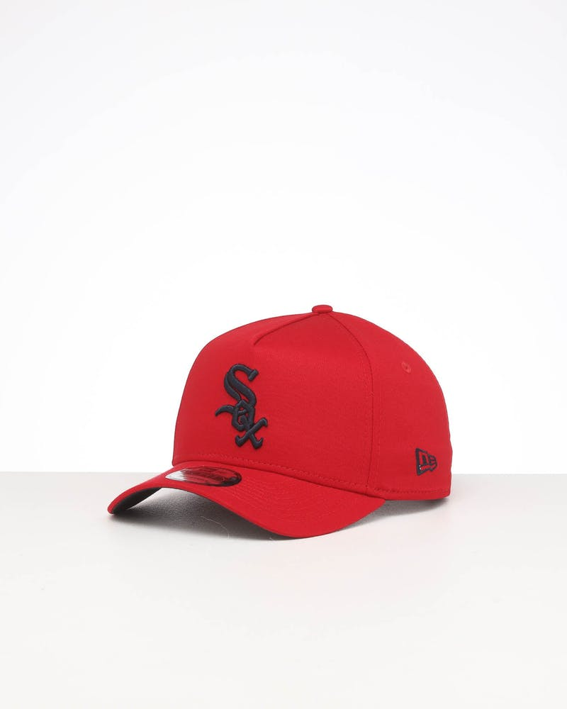 New Era Chicago White Sox 9FORTY A-Frame Snapback Scarlet/Navy