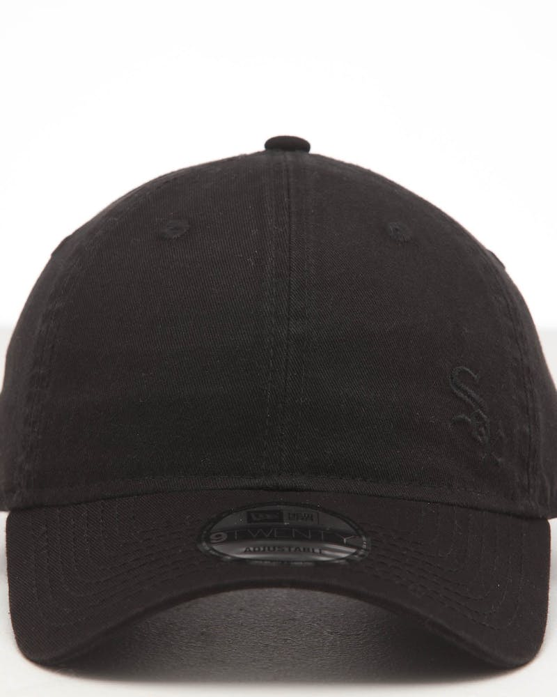 New Era White Sox 9TWENTY Fless Strapback Black