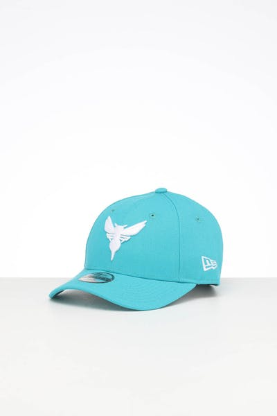 New Era Kids Charlotte Hornets 9FORTY POP Hook & Loop Teal