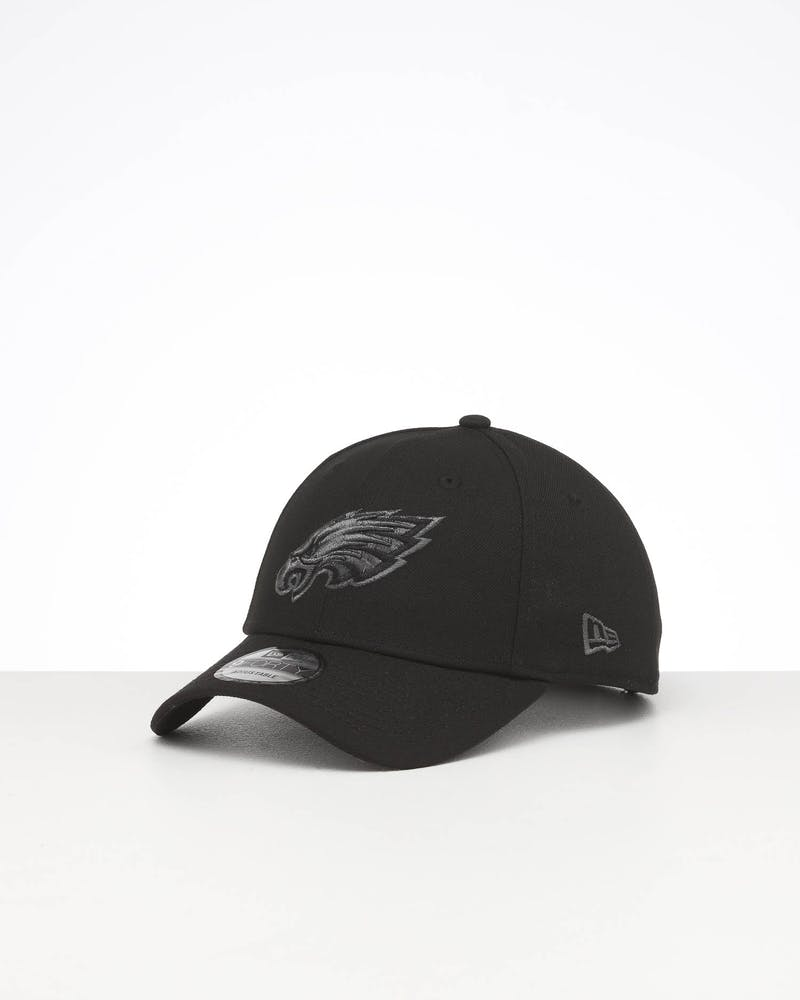 New Era Philadelphia Eagles 9FORTY Snapback Black Metallic