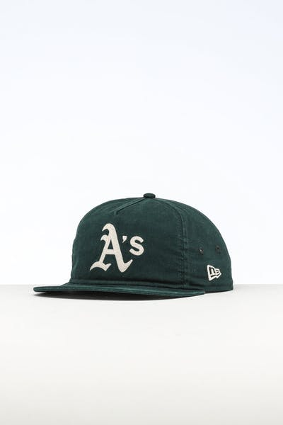 New Era Oakland Athletics The Old Golfer Chainstitch Snapback Dark Green/Ivory