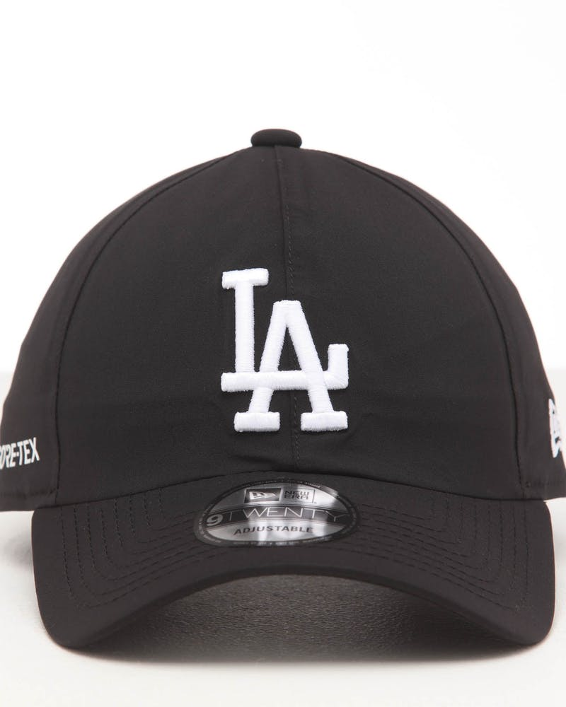 NEW ERA LOS ANGELES DODGERS 9TWENTY GORE-TEX STRAPBACK BLACK/OTC