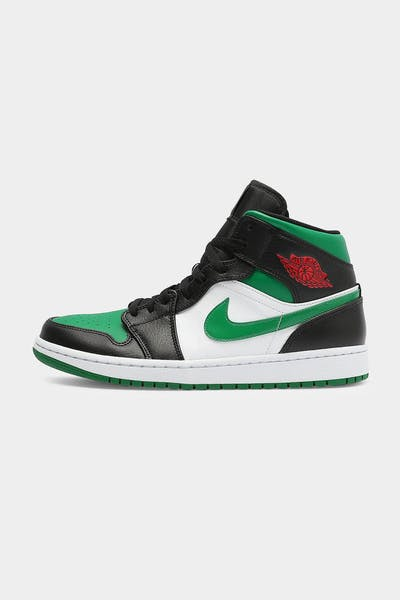 Jordan Air Jordan 1 Mid Black/Green/White