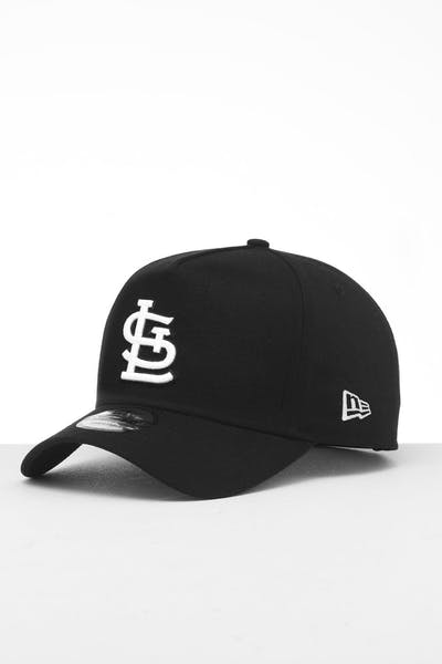 New Era St. Louis Cardinals 9FORTY K-Frame Snapback Black/White