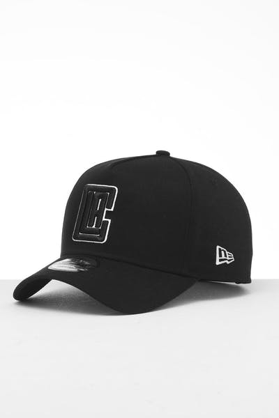 New Era Los Angeles Clippers 9FORTY K-Frame Snapback Black/White