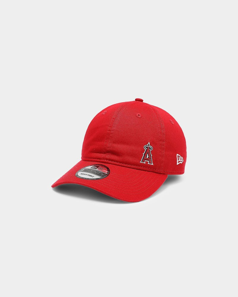 New Era Los Angeles Angels 9Twenty Strapback Scarlet