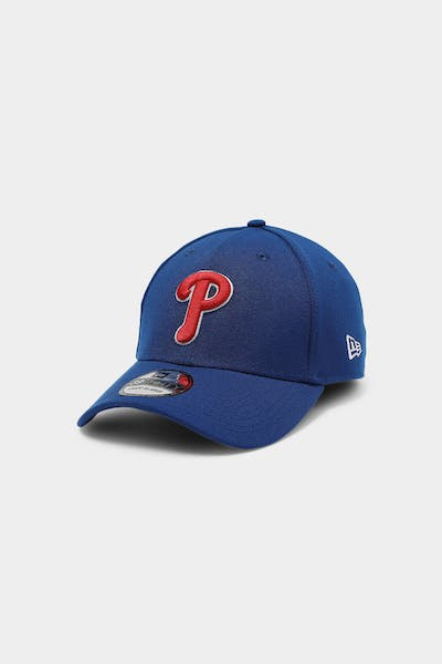 New Era Philadelphia Phillies 39THIRTY Logo Fitted Light Royal