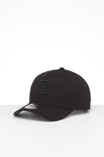 NEW ERA SAN FRANCISCO GIANTS 9FORTY A-FRAME SNAPBACK BLACK/WHITE CHECKERED