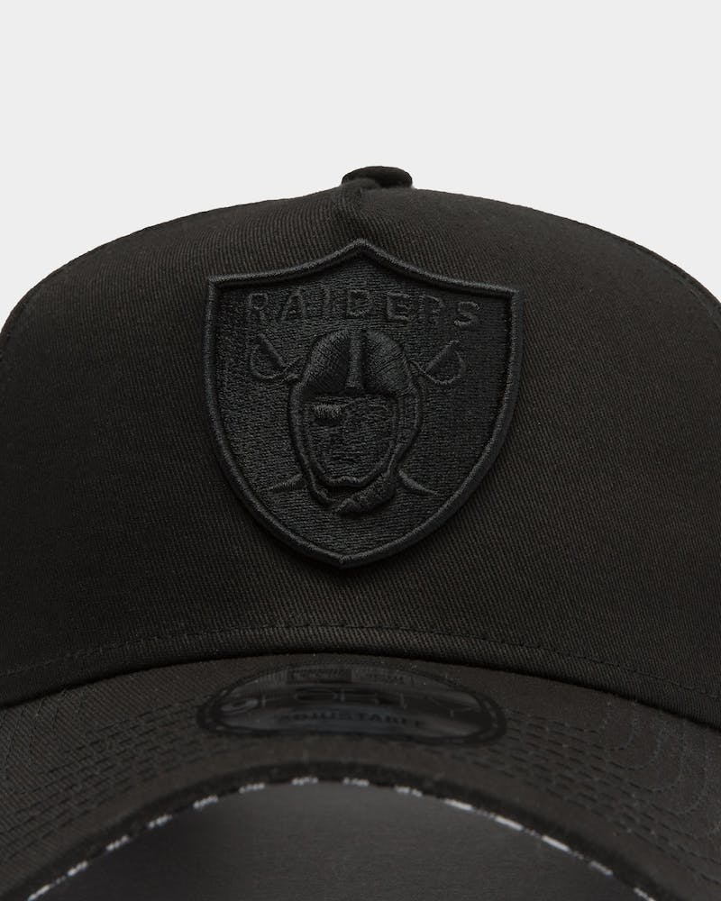 NEW ERA OAKLAND RAIDERS 9FORTY A-FRAME SNAPBACK BLACK/WHITE CHECKERED
