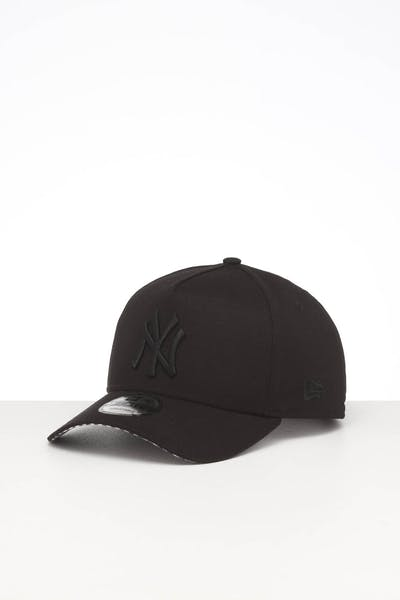 NEW ERA NEW YORK YANKEES 9FORTY A-FRAME SNAPBACK BLACK/WHITE CHECKERED