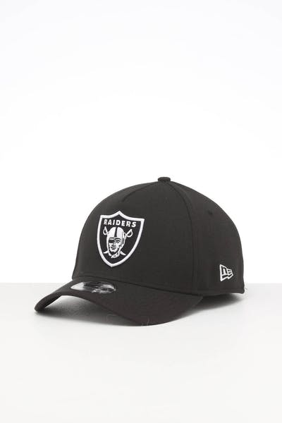 NEW ERA OAKLAND RAIDERS 39THIRTY A-FRAME FITTED BLACK