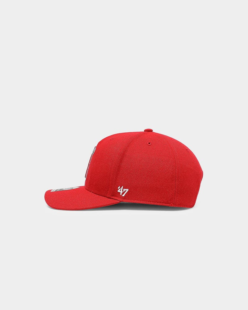 47 Brand Los Angeles Angels Cold Zone MVP DP Snapback Red