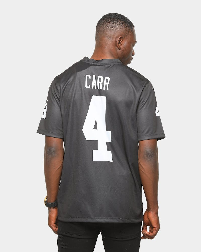Nike Raiders Derek Carr Legend Jersey Black