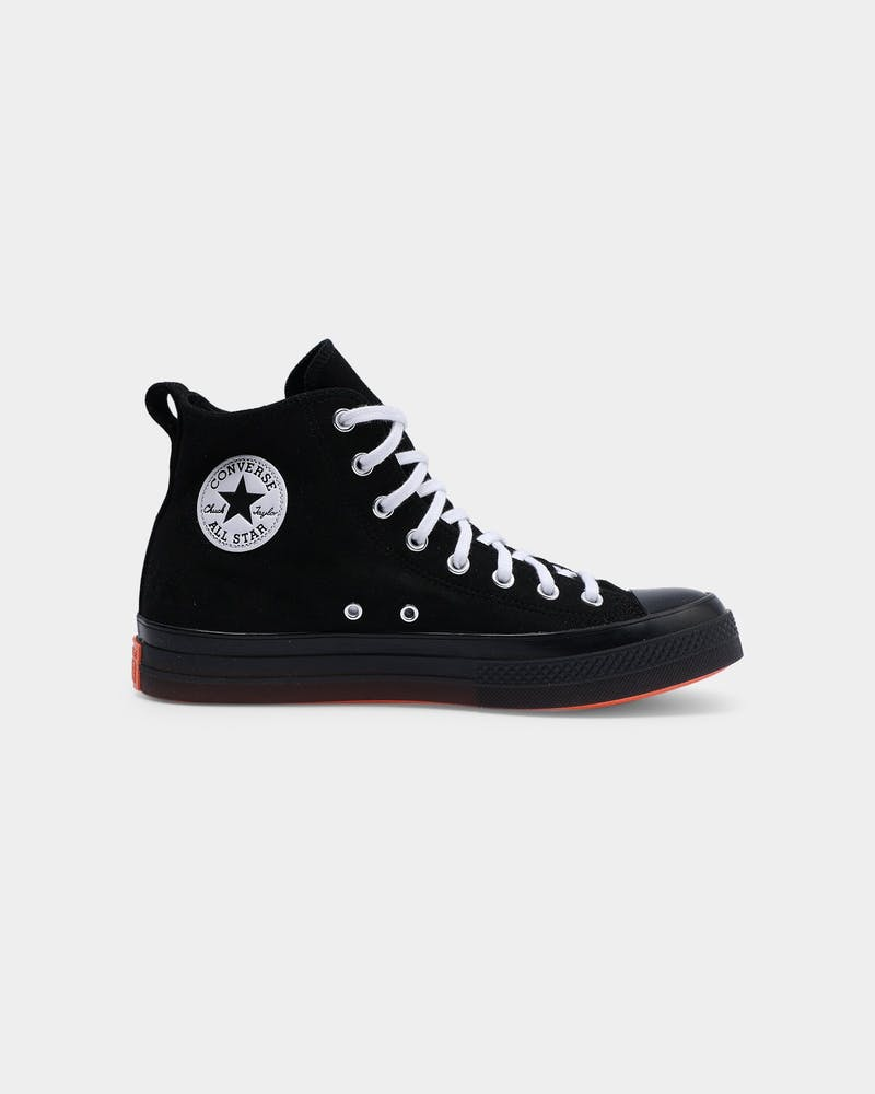 Converse Chuck Taylor All Star CX Stretch Suede High Top Black/Mango/White