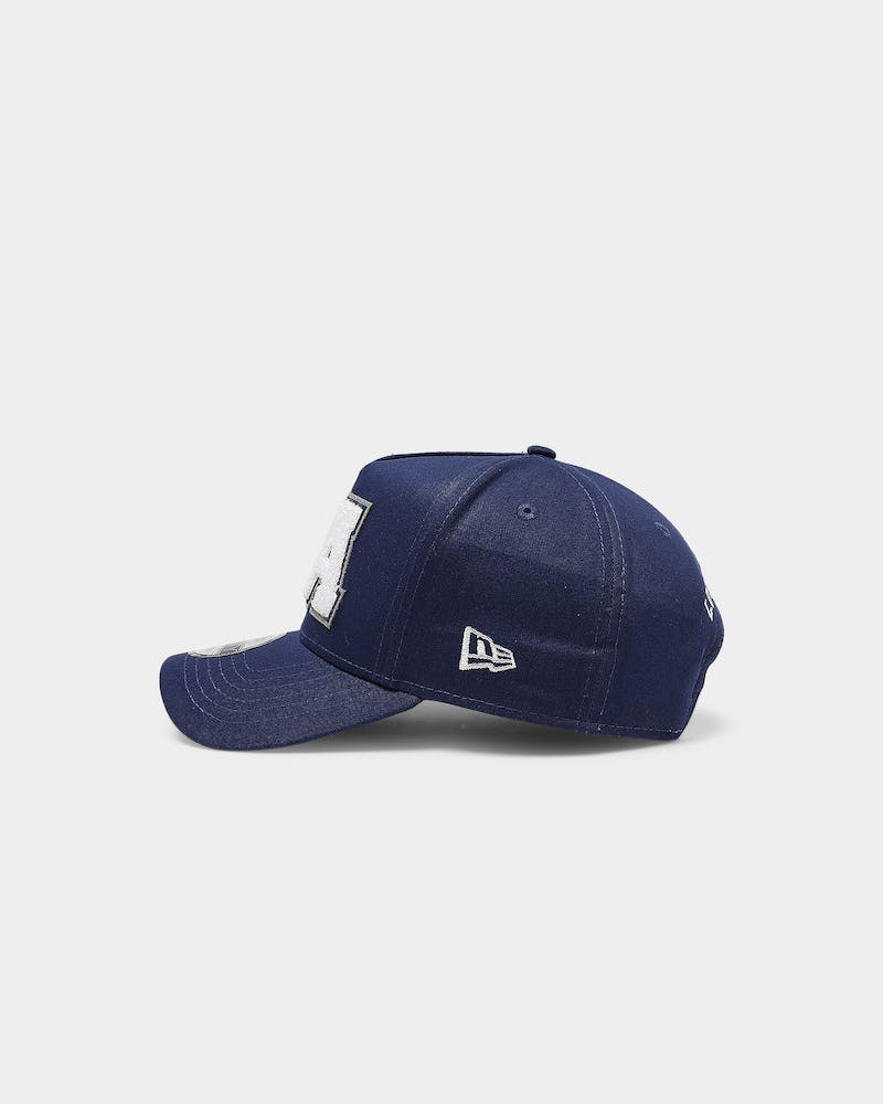 New Era Los Angeles Dodgers Varsity 9FORTY K-Frame Snapback Dark Royal