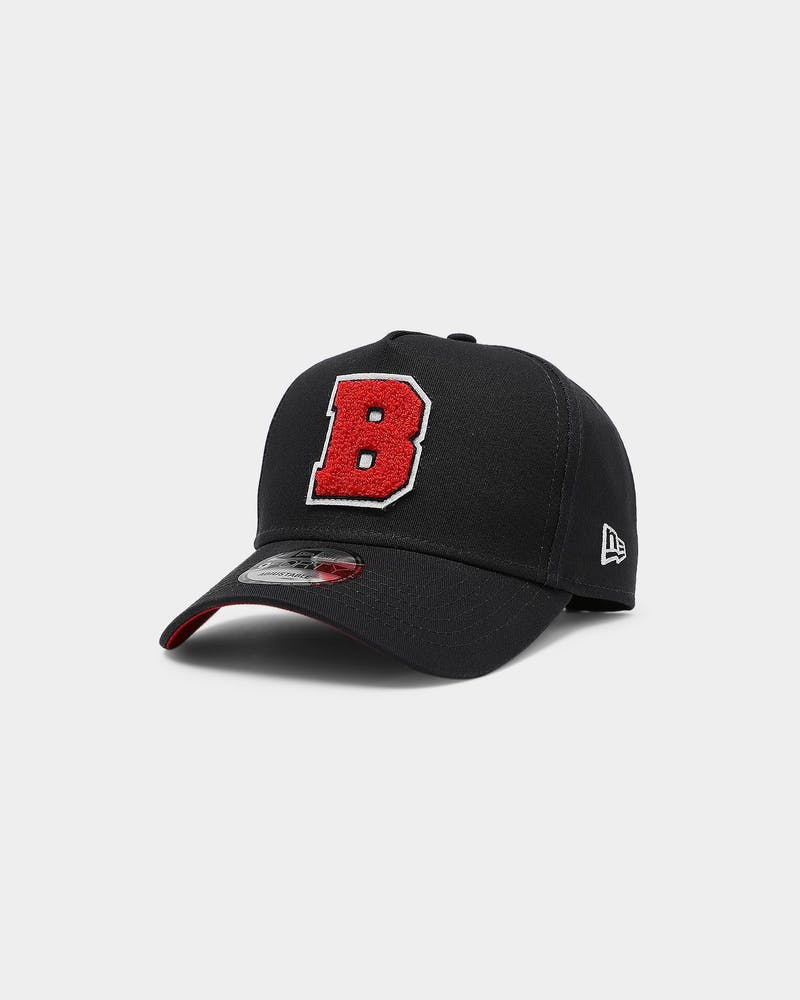 New Era Boston Red Sox Varsity 9FORTY K-Frame Snapback Navy