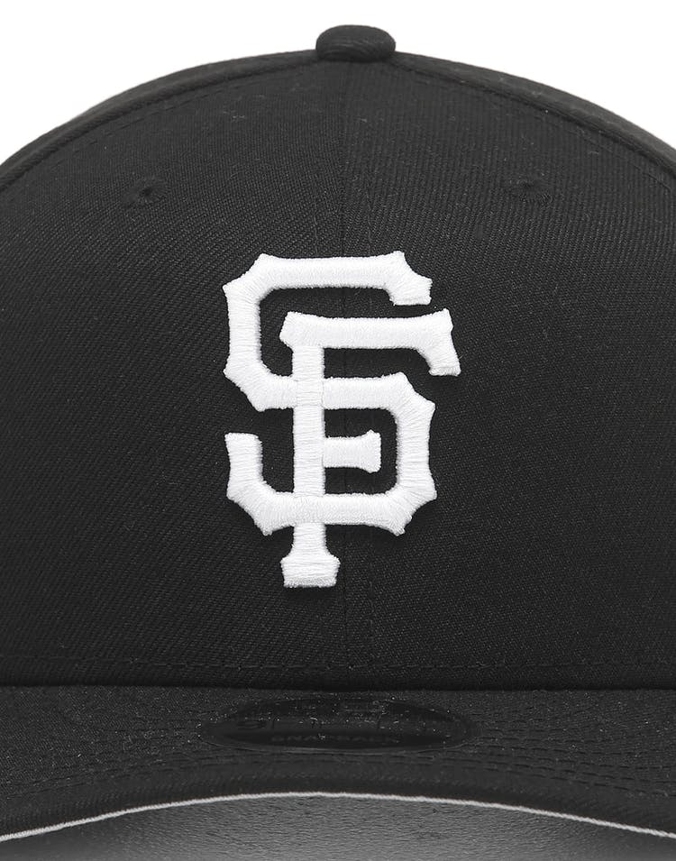 ab2fc05c New Era San Francisco Giants 9FIFTY Retro High Crown Precurved Snapback  Black