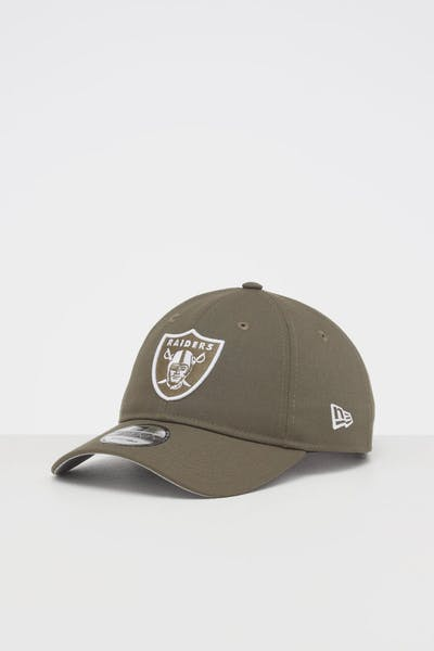 NEW ERA OAKLAND RAIDERS 9TWENTY STRAPBACK OLIVE/WHITE
