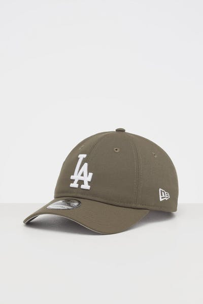 NEW ERA LOS ANGELES DODGERS 9TWENTY STRAPBACK OLIVE/WHITE