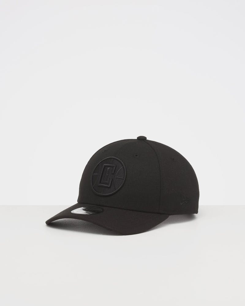 NEW ERA LOS ANGELES CLIPPERS 9FORTY SNAPBACK BLACK/BLACK