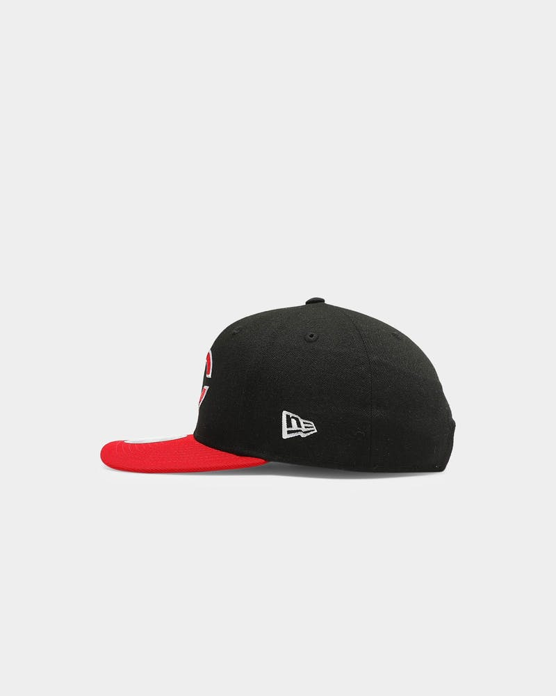 New Era Cincinnati Reds 9FIFTY Precurved Snapback Black