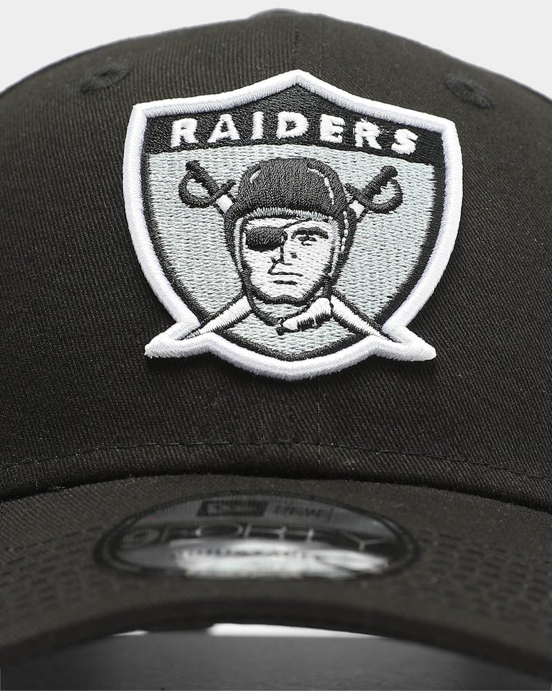 New Era Raiders Heritage 9FORTY Strapback Black