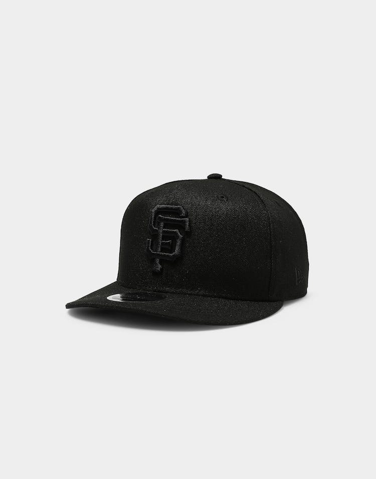 New Era San Francisco Giants 9FIFTY High Crown Precurved Snapback Black/Black