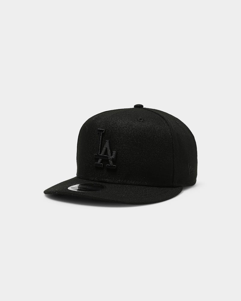 New Era Los Angeles Dodgers 9FIFTY High Crown Precurved Snapback Black/Black
