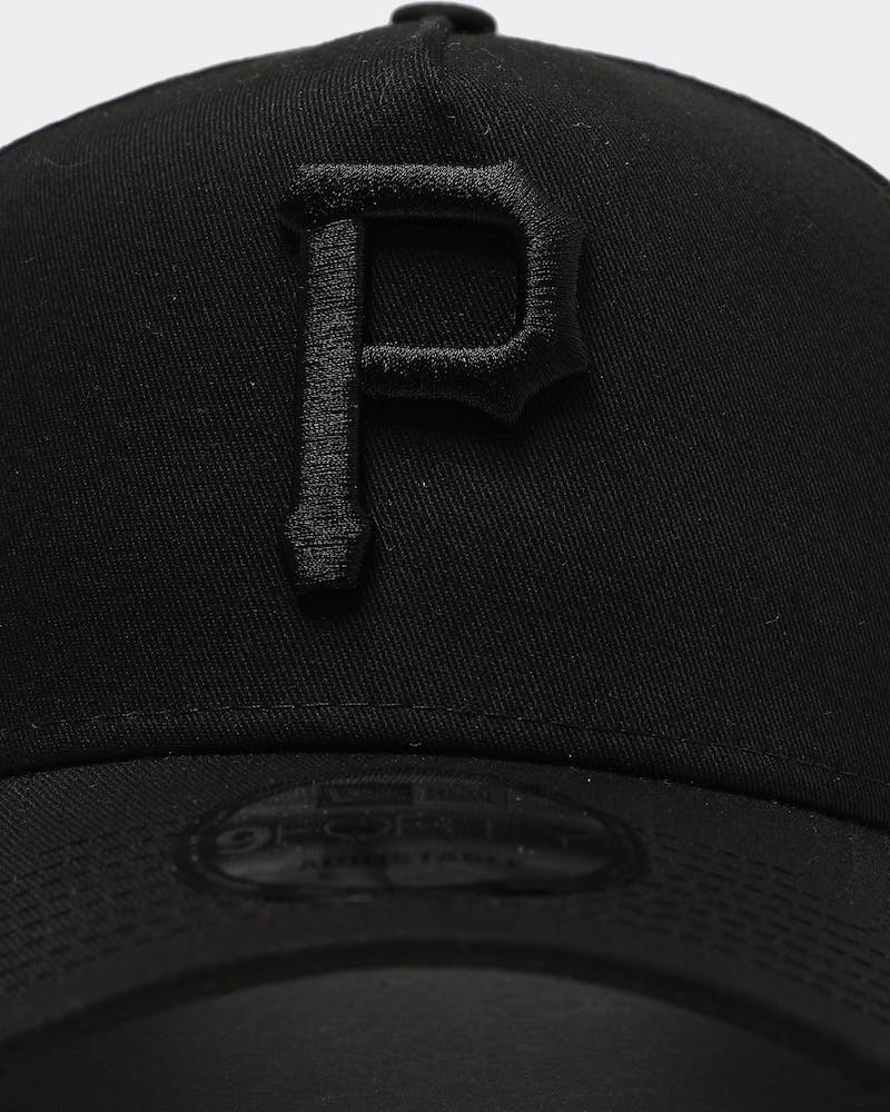 New Era Pittsburgh Pirates 9FORTY A-Frame Snapback Black/Black