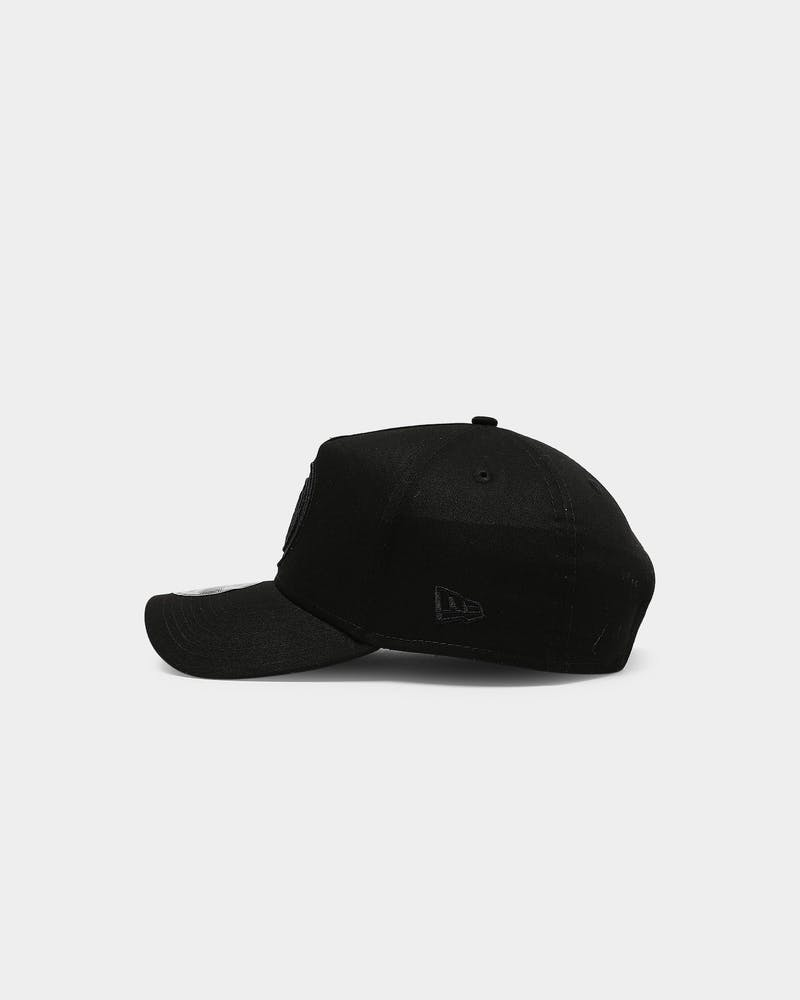 New Era Brooklyn Nets 9FORTY A-Frame Snapback Black/Black