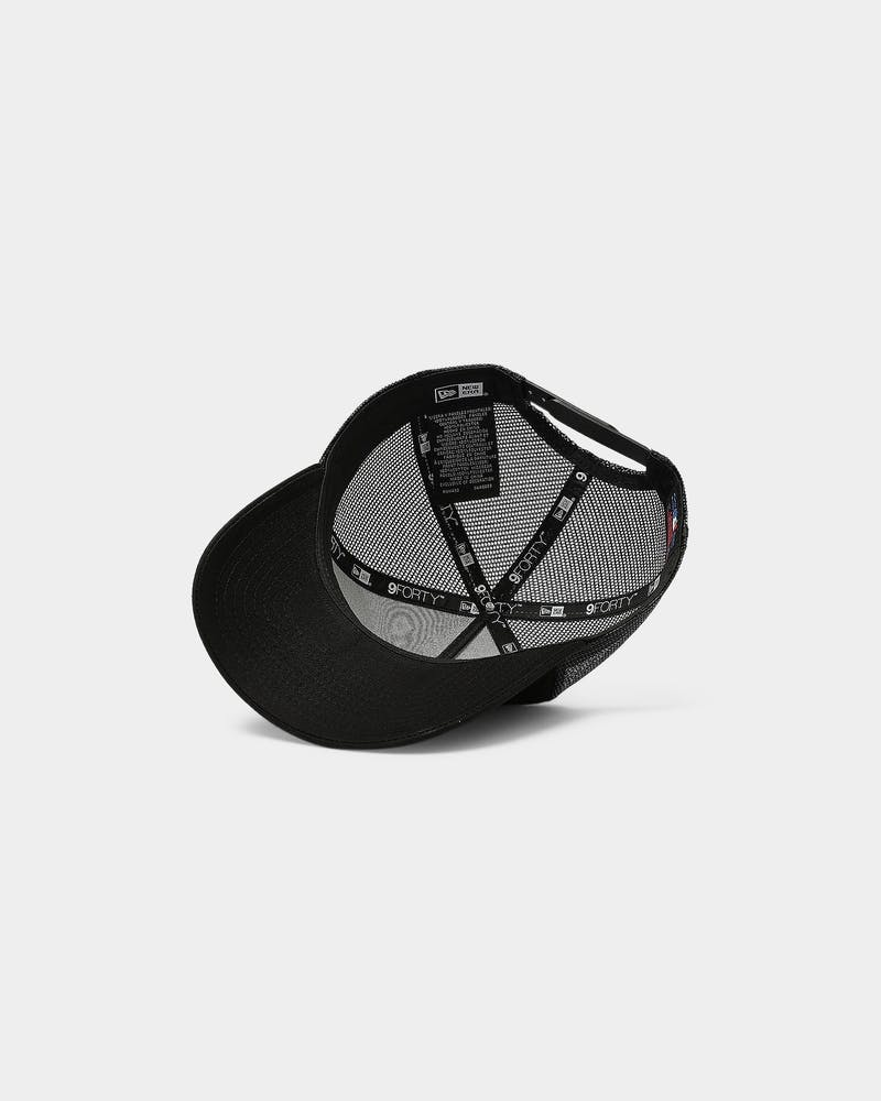 New Era Boston Red Sox 9FORTY A-Frame Trucker Black/Black