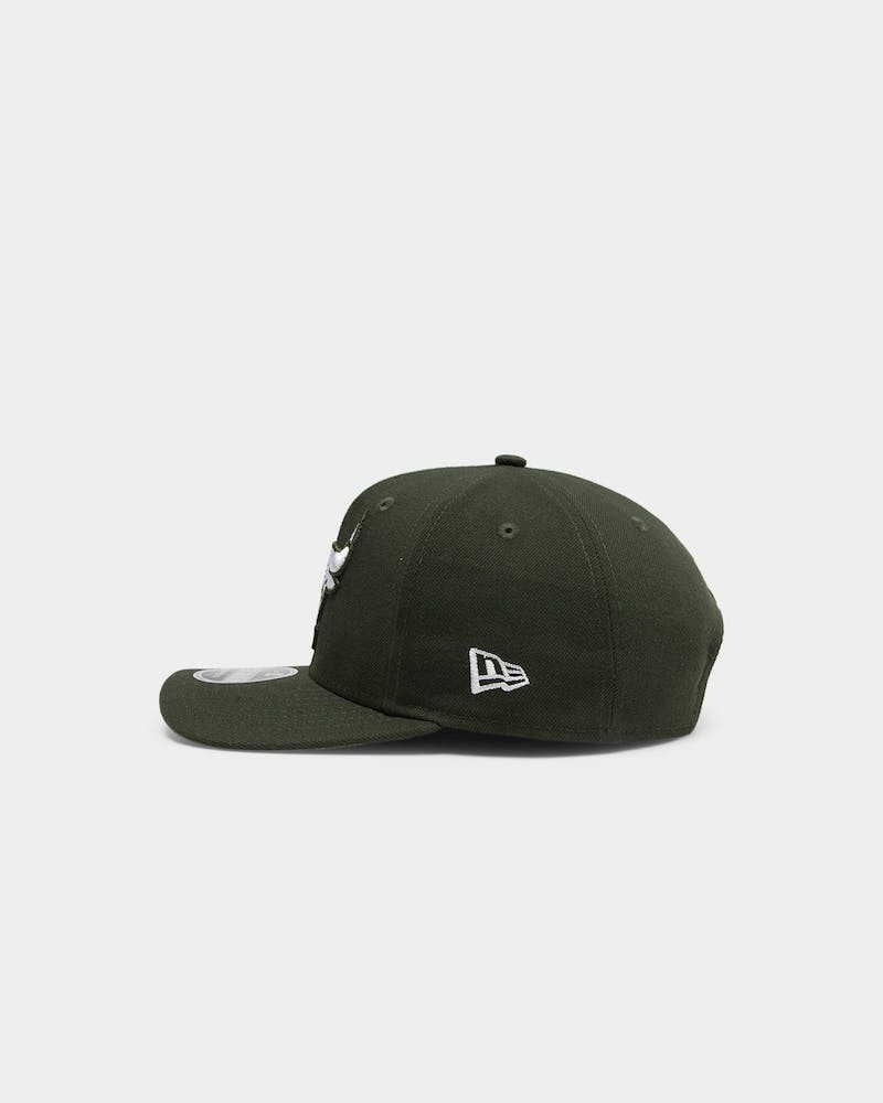 New Era Chicago Bulls Green Hit 9FIFTY PC Snapback Dark Seaweed