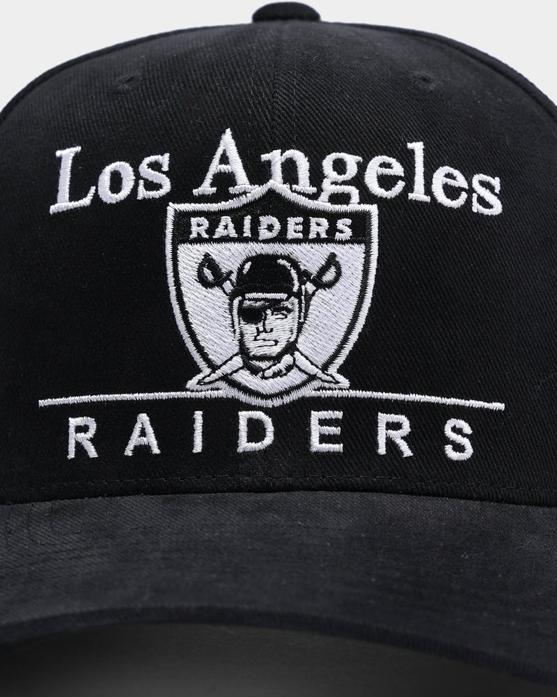 Mitchell & Ness Los Angeles Raiders Stack Pro Crown Snapback Black
