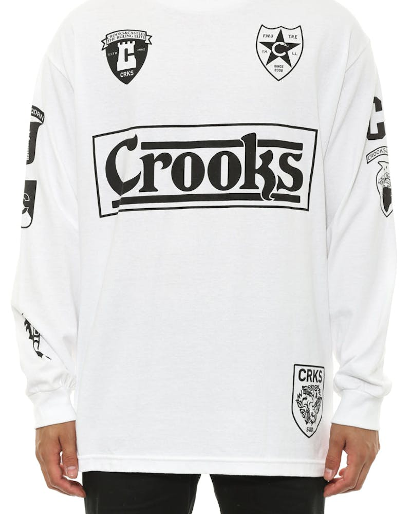 Soldier Long Sleeve White