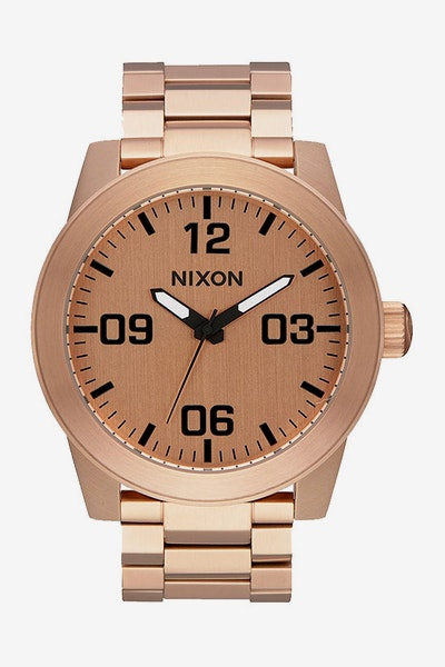 Nixon Corporal SS Rose Gold