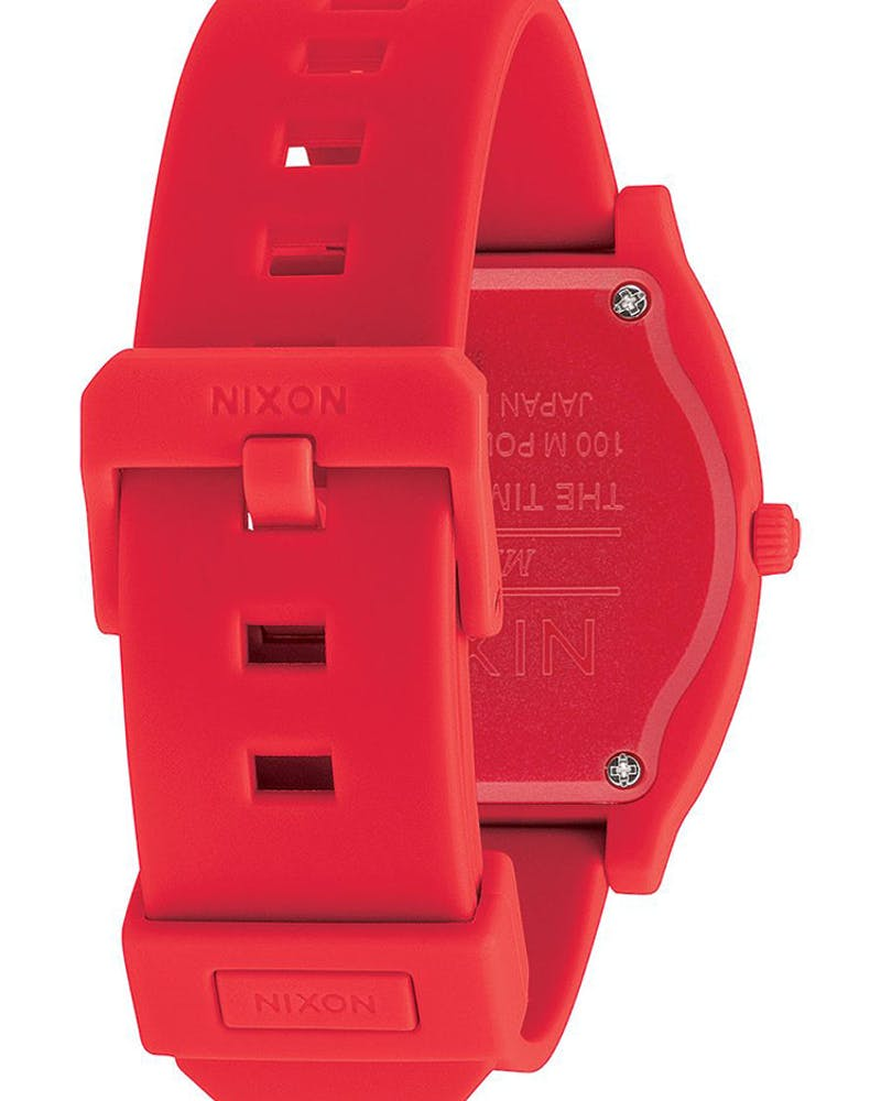 Nixon Time Teller P Corp Red/White