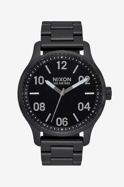 Nixon Patrol Watch Black/Silver