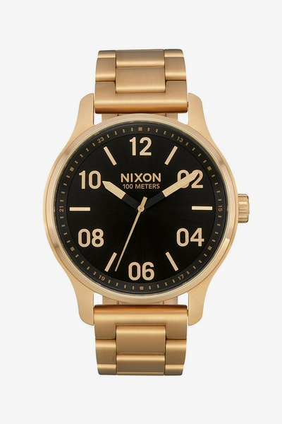 Nixon Patrol Watch Gold/Black