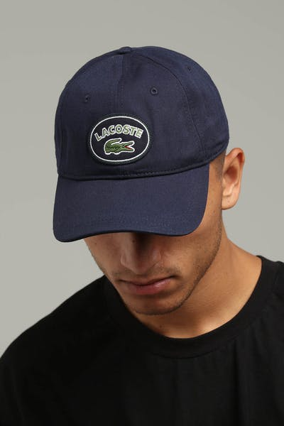 Lacoste Badge Logo Cap Navy/Blue