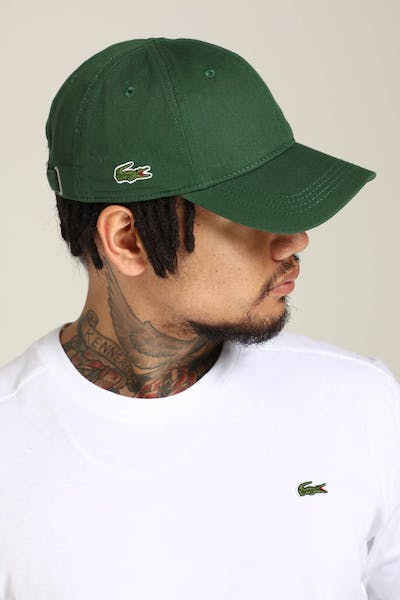 Lacoste Basic Side Croc Cap Green